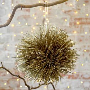 Glittered Pompom