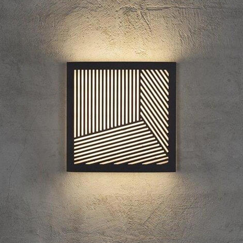 Maze Square Straight Lines Light