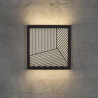 Maze Square Straight Lines Light