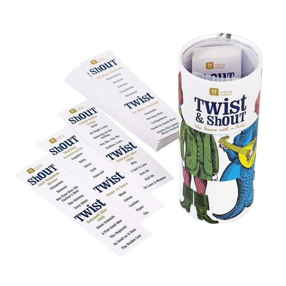 Twist and Shout Party Game