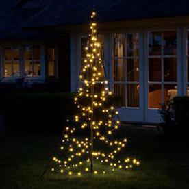 Outdoor 3D Illuminated Christmas Trees