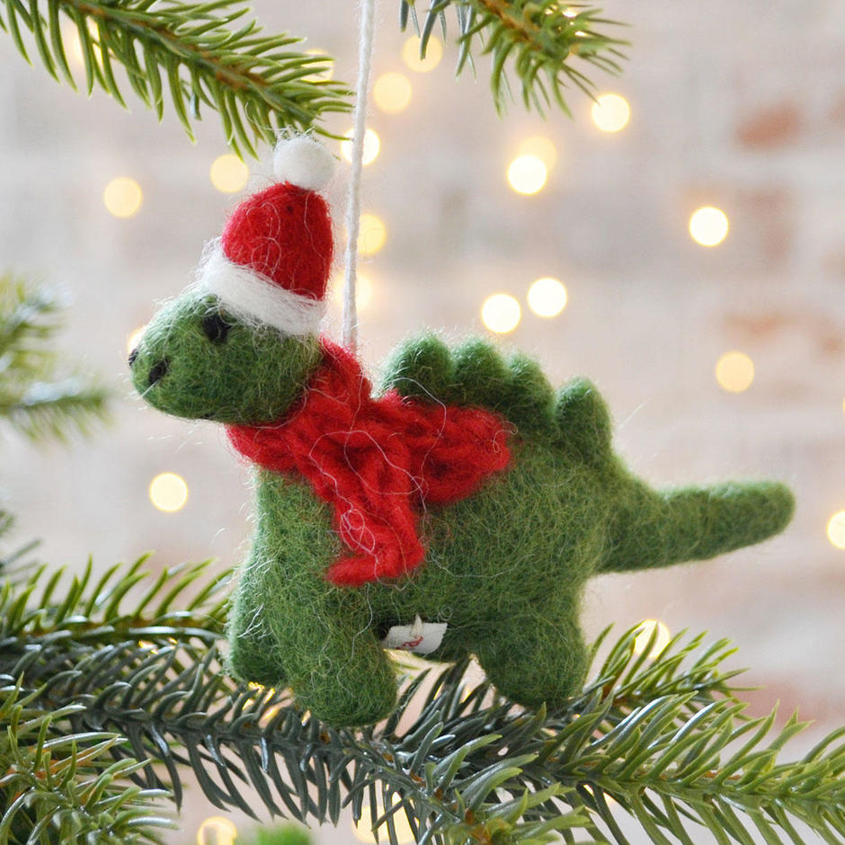 Dave the Christmas Diplodocus