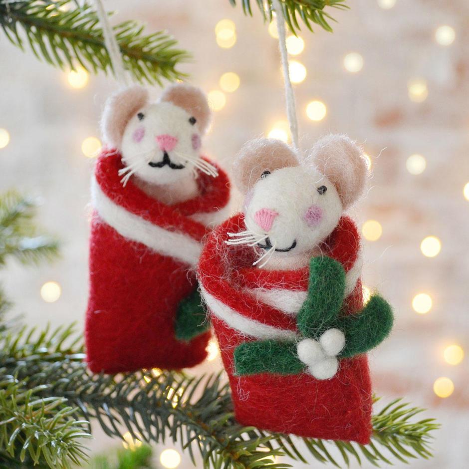 'Duvet Day' Christmas Mice