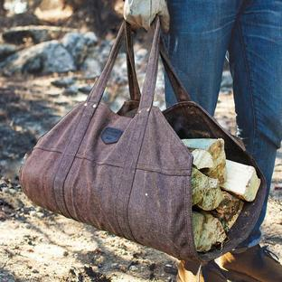 Lumberjack Style Log Carrier