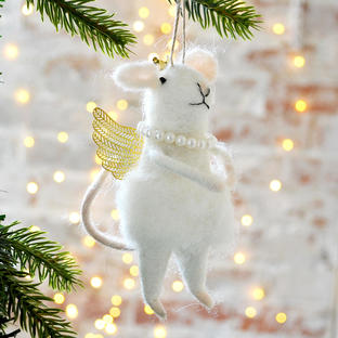 Christmas Fairy Godmother Mouse