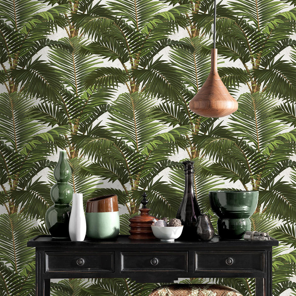 Jardin Tropical Feature Wallcovering