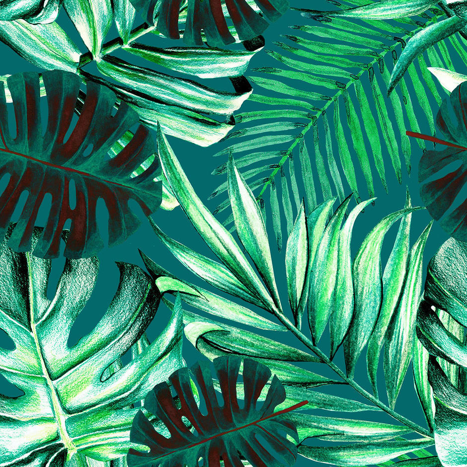 Rainforest Feature Wallcovering