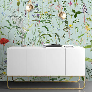 Aquafleur Feature Wallcovering