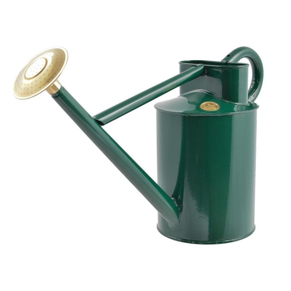 Haws Traditional Green Watering Can