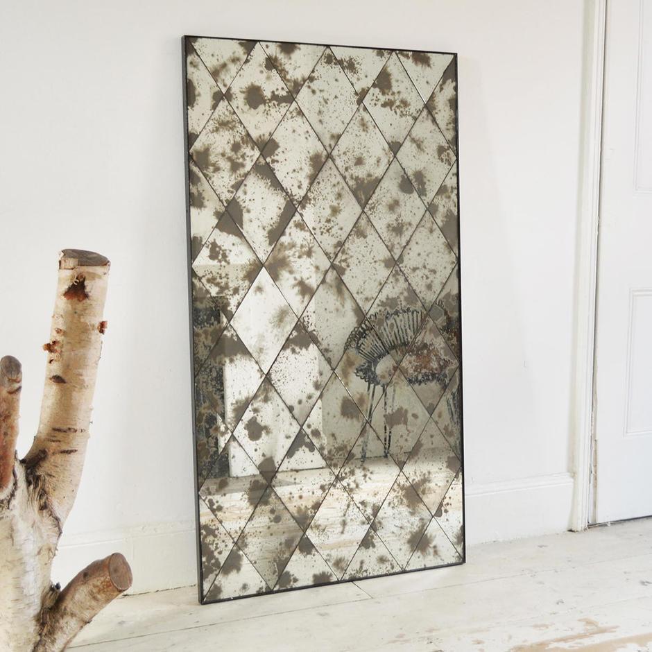 Harlequin Diamond Mirror