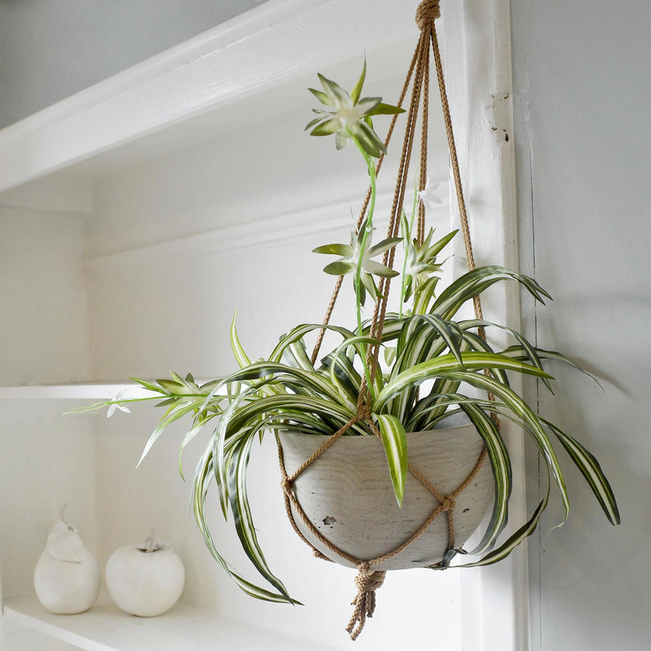 Macrame Hanging Pot