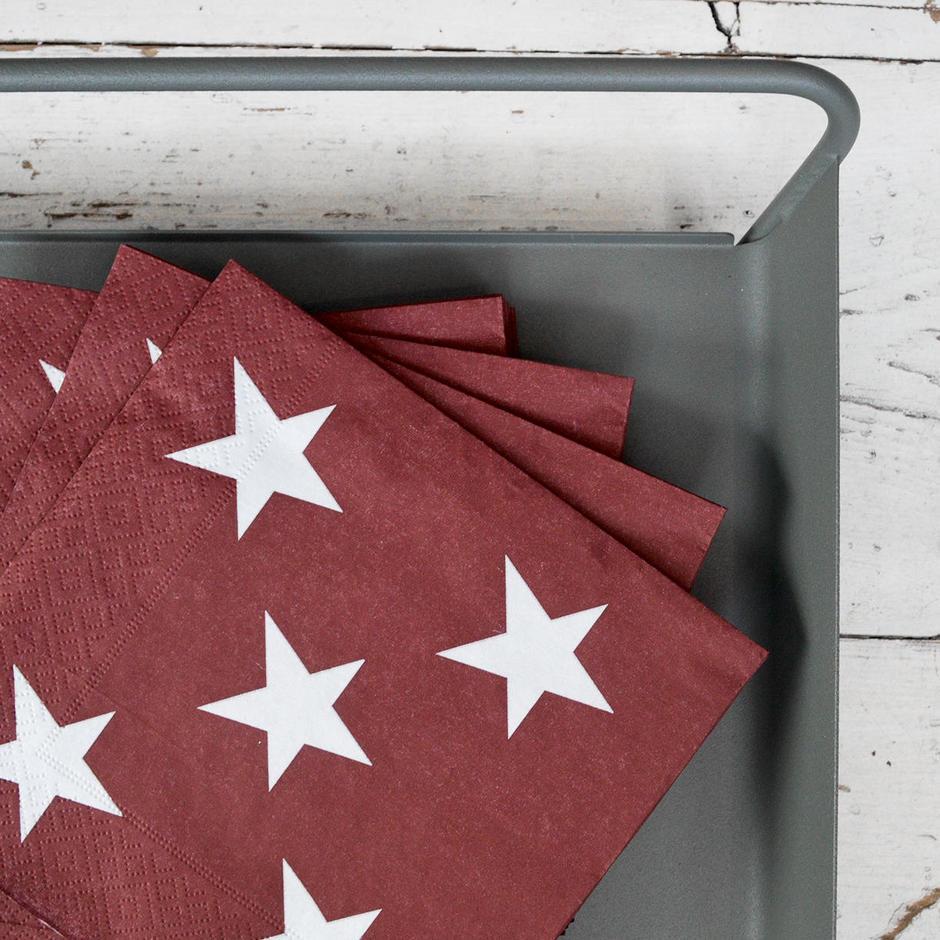 Small Stars Paper Napkins