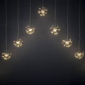 Starburst Sparkler LED Curtain String Light