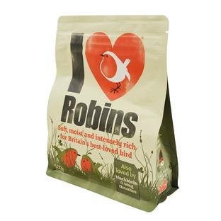 I Love Robin Bird Food