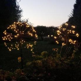 Solar Dandelion Stake Lights