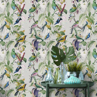 Birds Feature Wallcovering