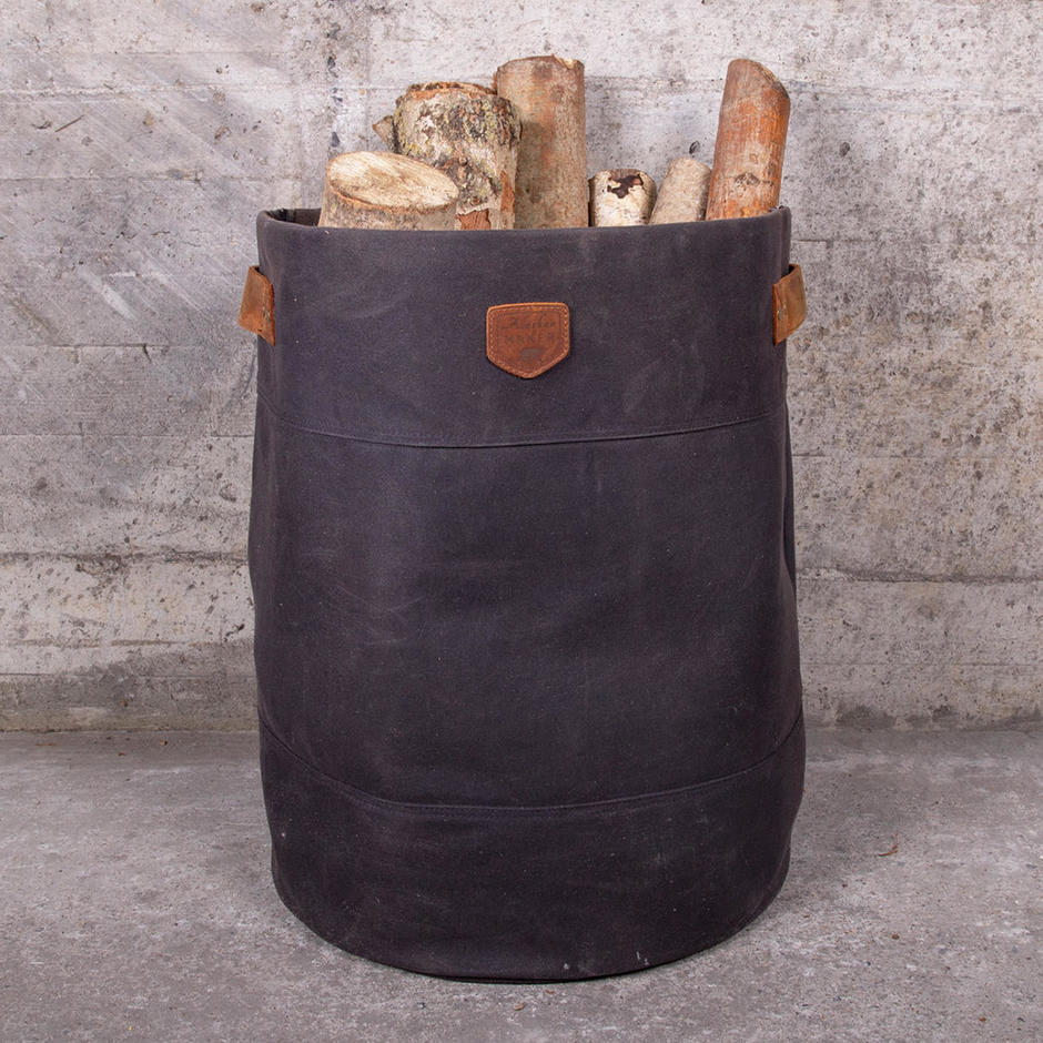 Waxed Canvas Storage Bags