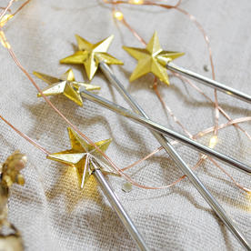 Gold Star Topped Stirrers