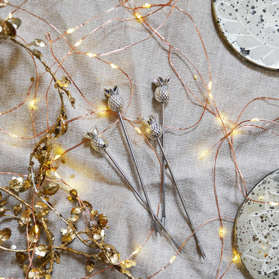Copper Wire LED Outdoor String Lights