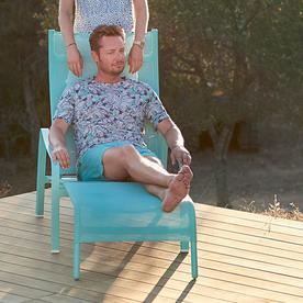 Alize Deckchair and Footrest