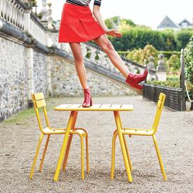 Luxembourg Square Table with 4 Legs