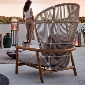 Fern High Back Lounge Chair