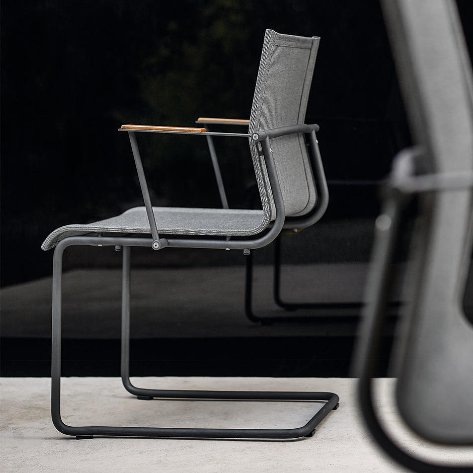 Sway Stacking Chairs with Arms