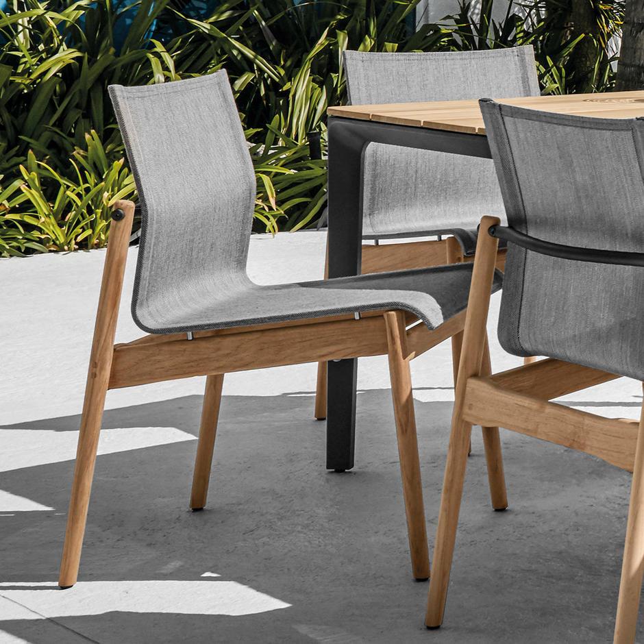 Sway Teak Dining Chair