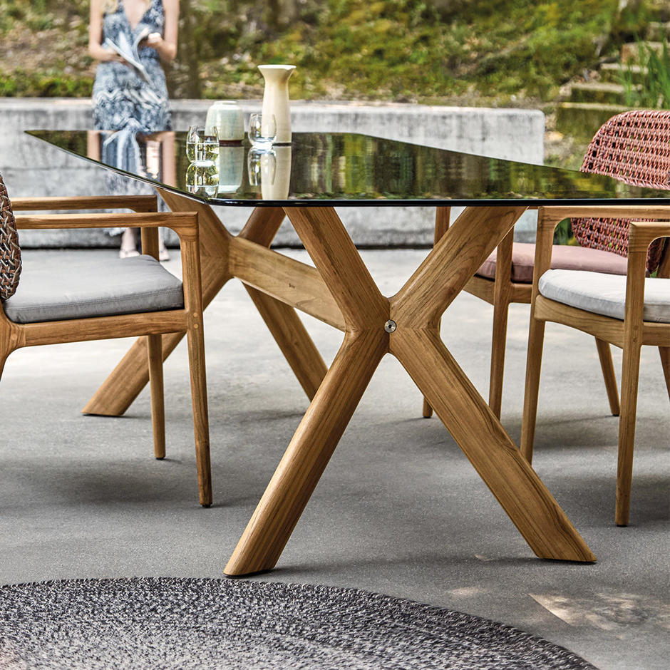 X-Frame Dining Tables