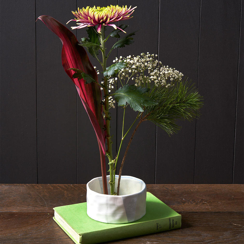 Japanese Ikebana Flower Bowl