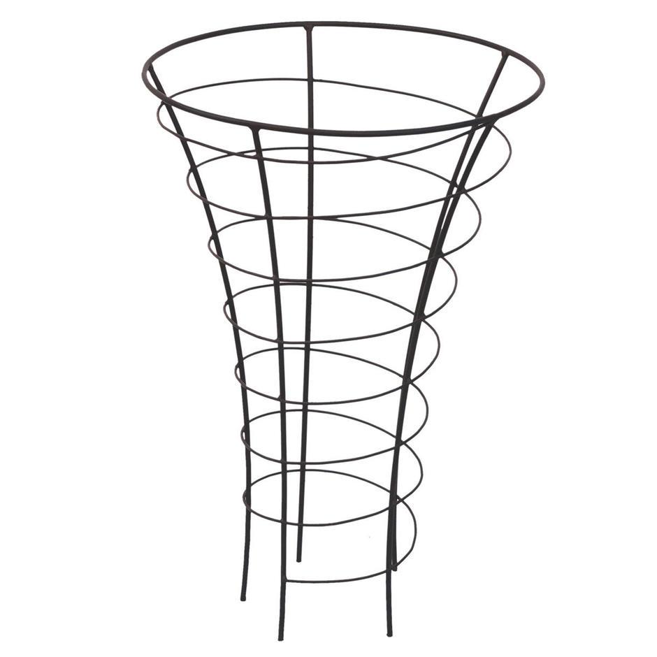 Trumpet Spiral Metal Plant Frame