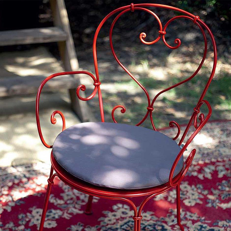 Outdoor Round Armchair Cushion