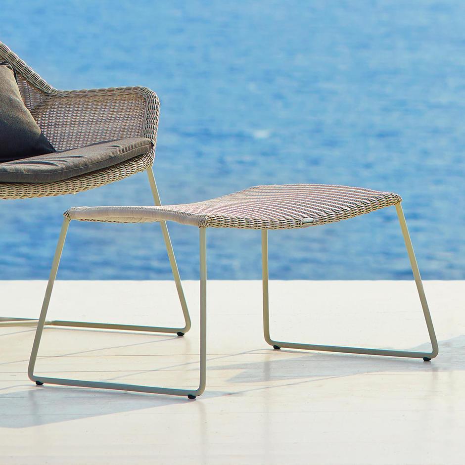 Breeze Outdoor Footstool