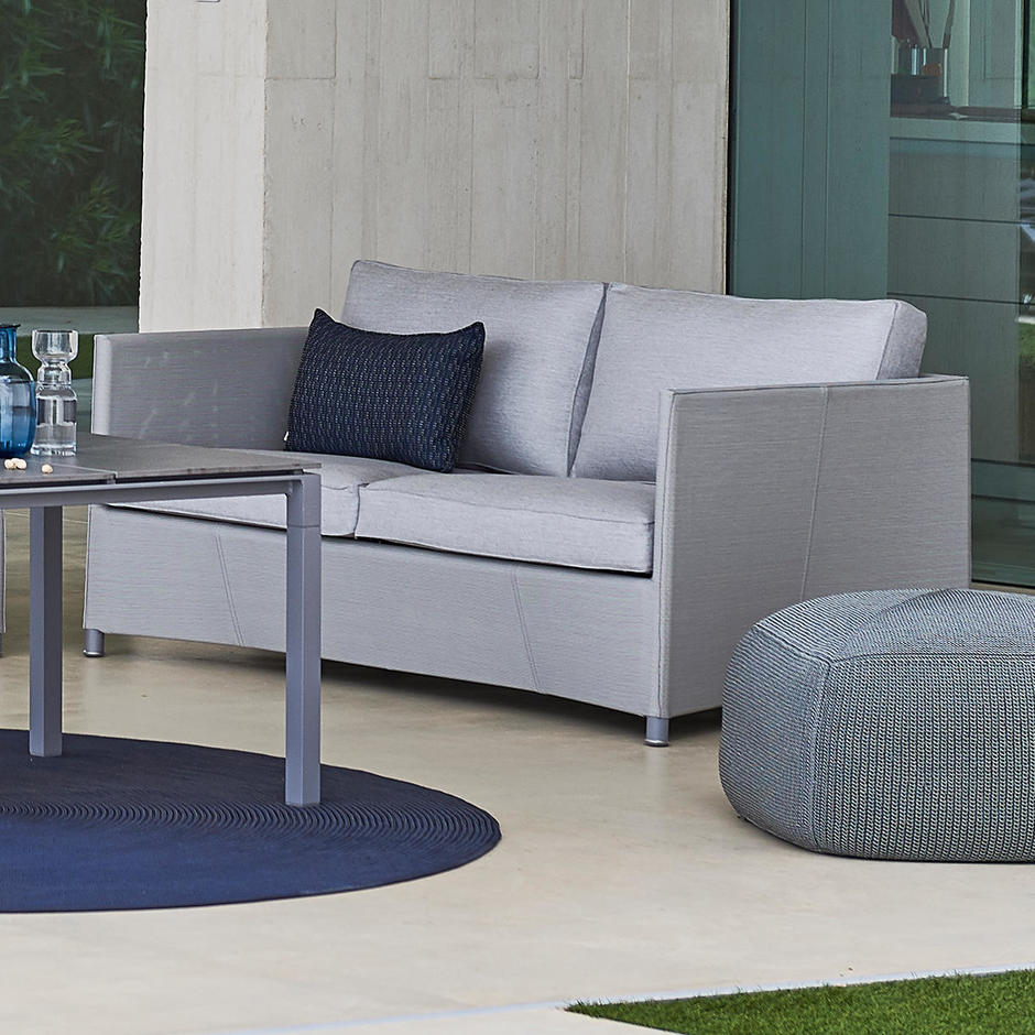 Diamond 2 Seat Sofa Outdoor Lounge
