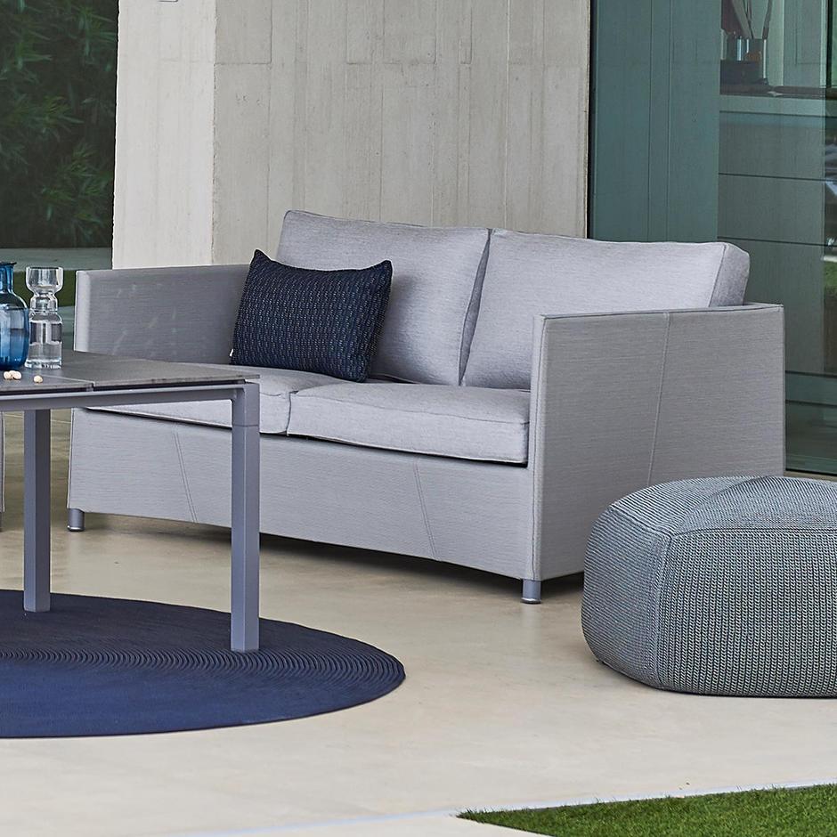 Diamond 2 Seat Sofa Outdoor Lounge