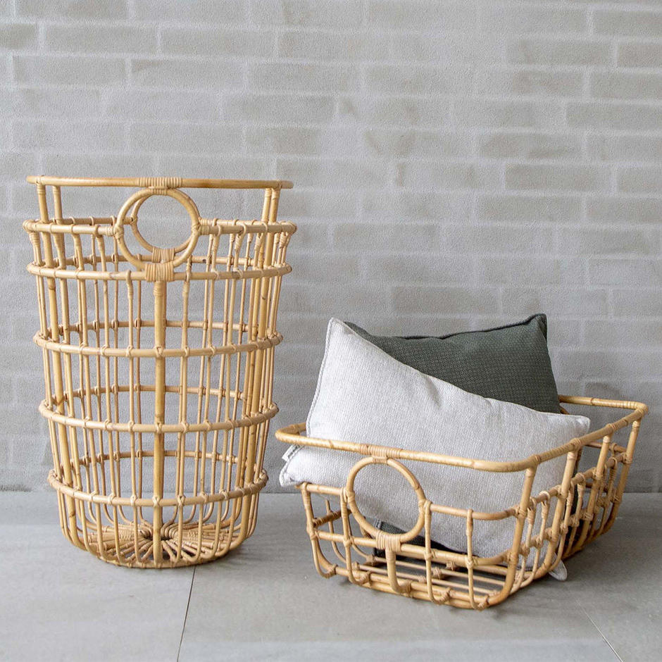 Carry Me Rattan Baskets for Stuff