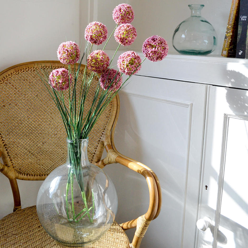 Faux Allium Spray