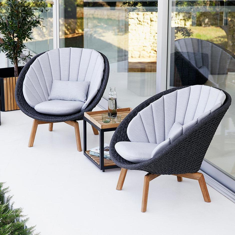 Peacock Rope Lounge Chair