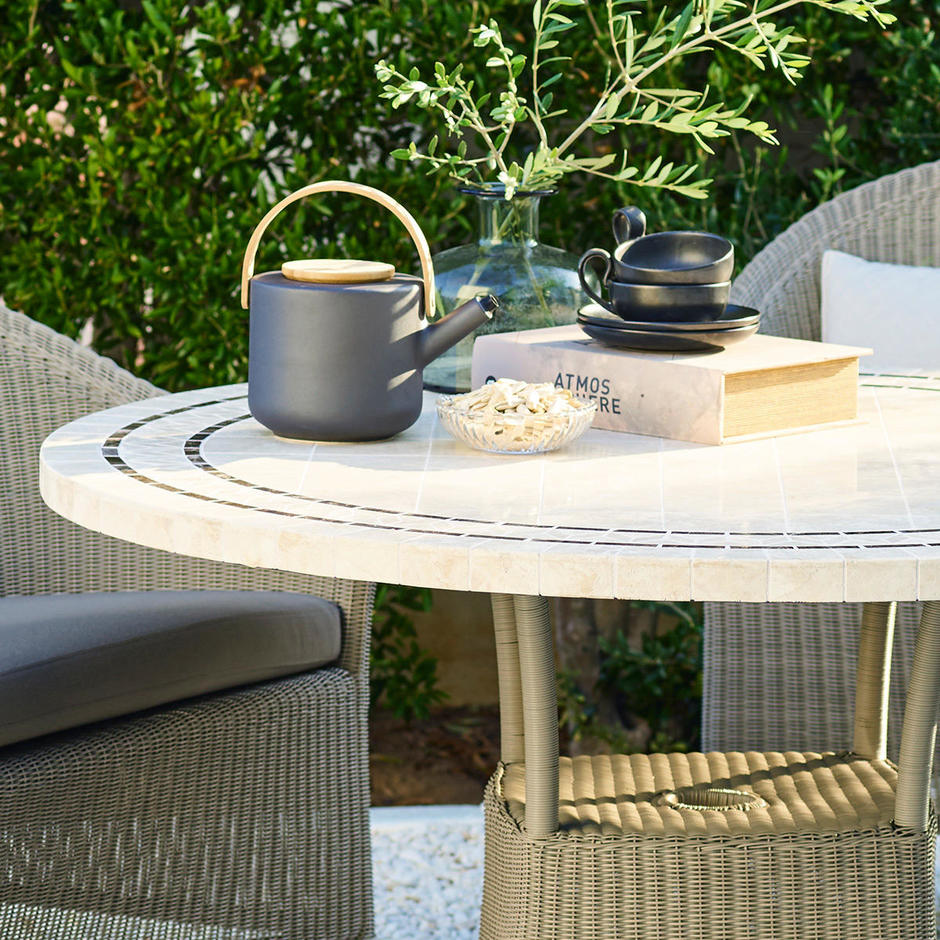 Lansing Outdoor Dining Round Table Top