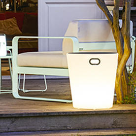 Inouï LED Illuminated Stool