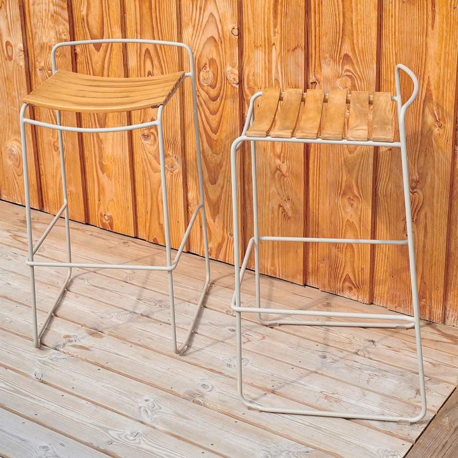 Surprising Teak Bar Stools