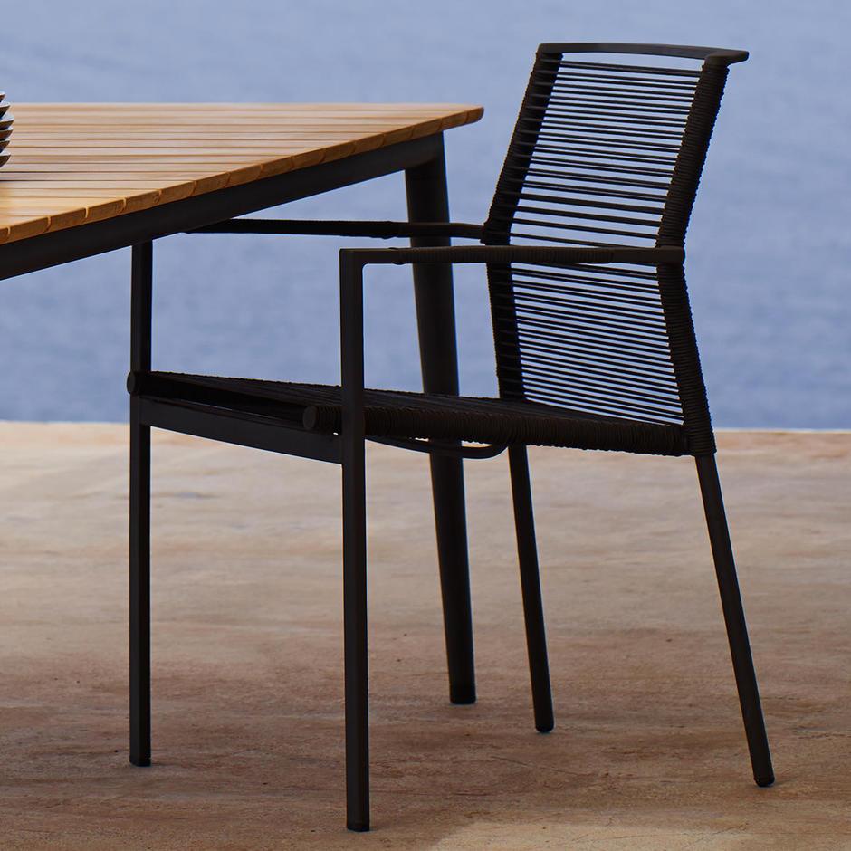 Edge Dining Armchair