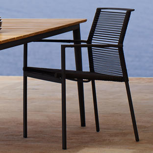 Edge Dining Armchair