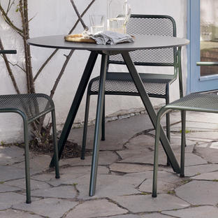 Overlap Patio Table