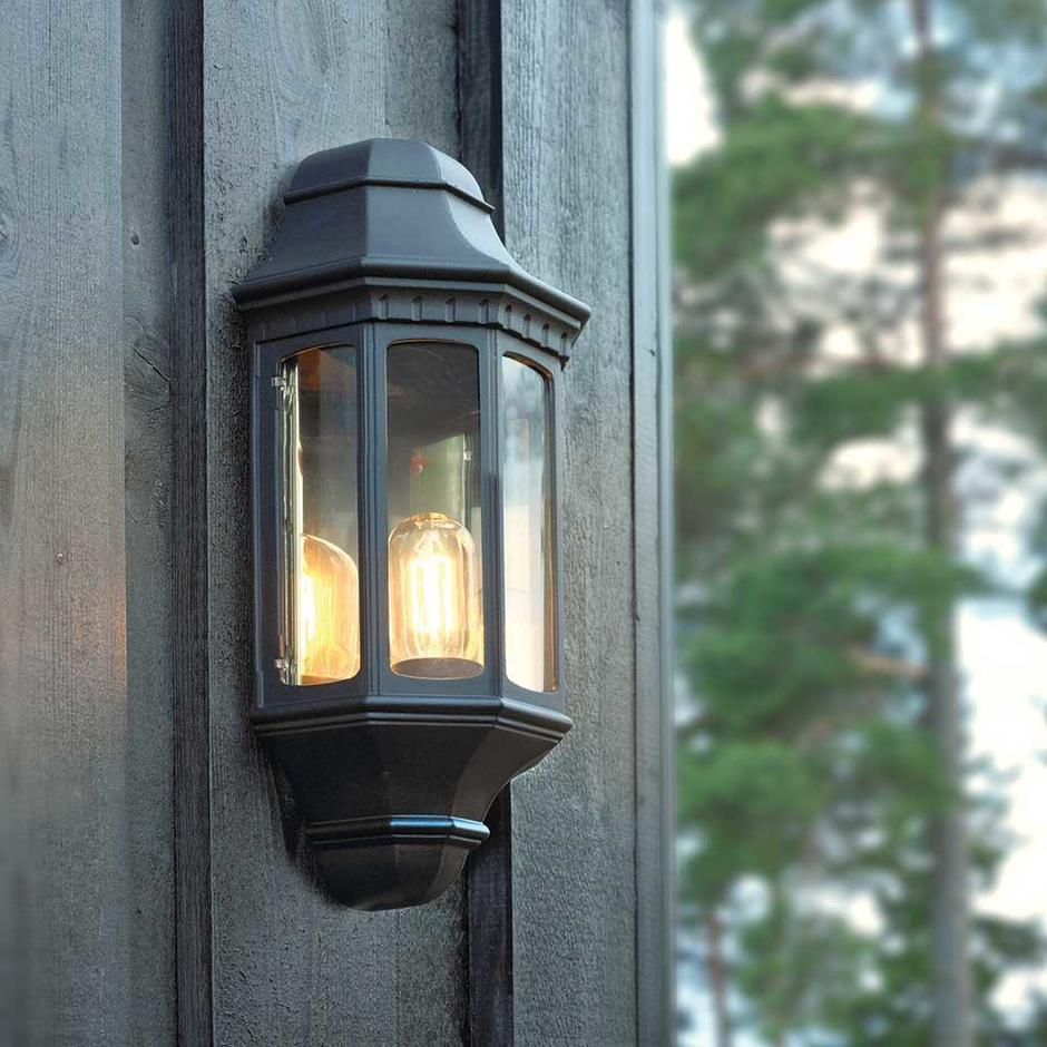 Malaga Outdoor Wall Lanterns