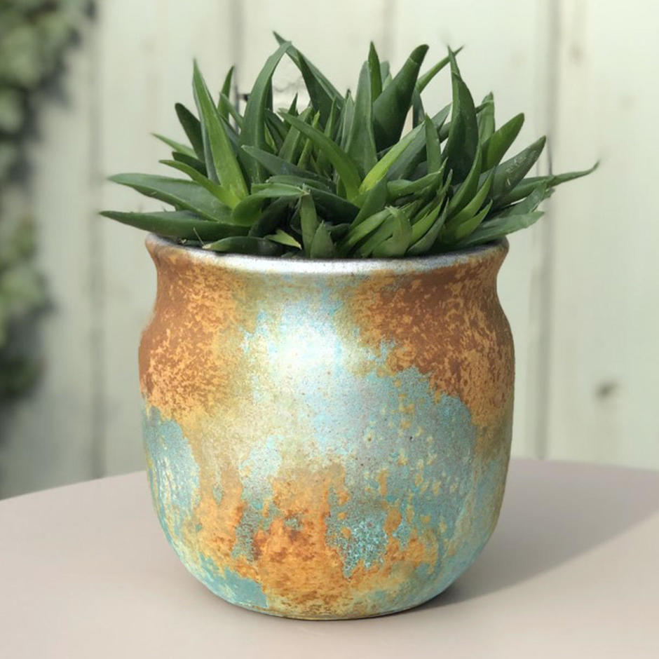Copper Oxide Indoor Pot