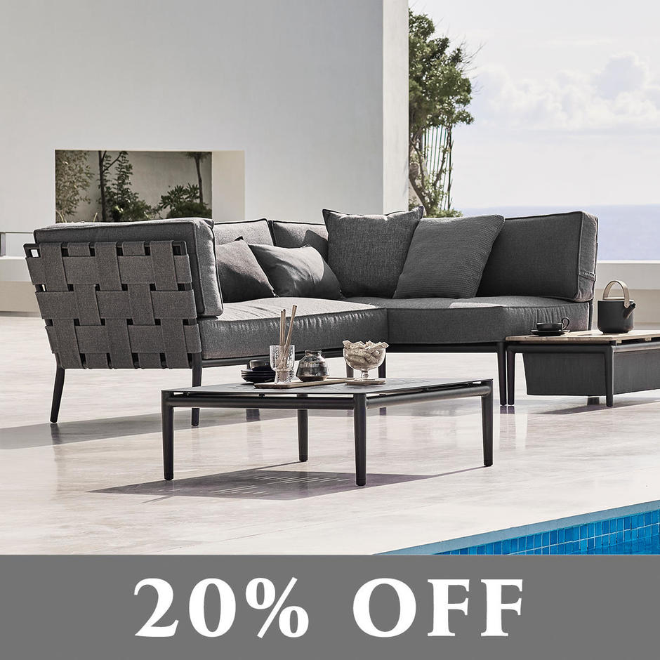 Conic Soft Touch Outdoor Lounge