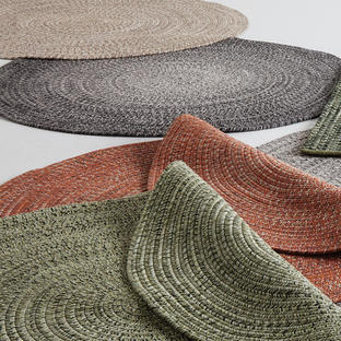 Gloster Outdoor Circular Deco Rugs