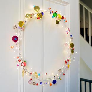 Bohemian Folklore Circle Ornament