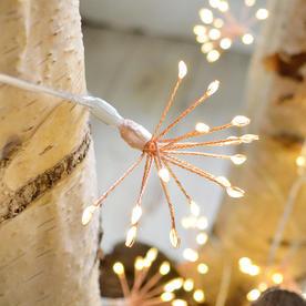 Allium Starburst Mains String Lights